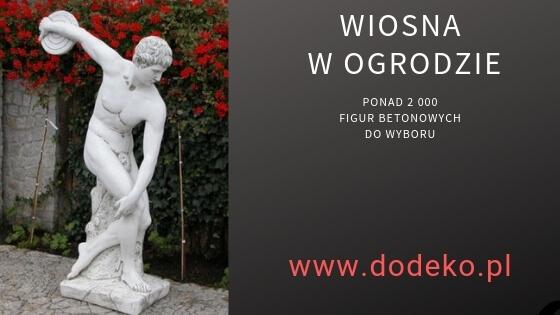 Figura ogrodowa mężczyzny - Dyskobol Myrona